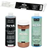 Modern Masters Metal Effects Paint and Patina Kit (16 Ounce Copper/Green)
