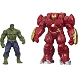 Marvel Avengers Age of Ultron Hulk and Marvel's Hulk Buster Figures