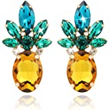 Pineapple Earrings Jewelry Gifts for Women Teens Girl-1 Pair by Holylove