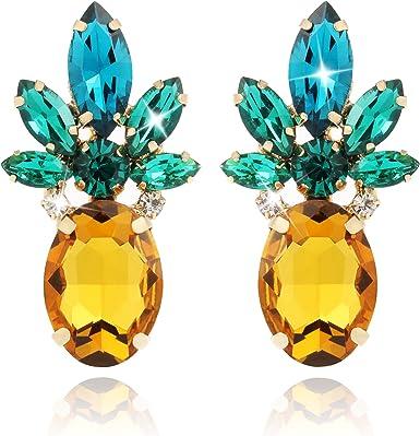 botanical earrings Pineapple earrings,fruit earrings,tropical earrings thanksgiving earring vacation earrings harvest earring