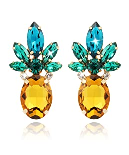 Pineapple Earrings Jewelry Gifts for Women Teens Girl 1 Pair by Holylove