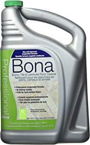 Bona Professional Laminate Pro Series Wm700018175 Stone, Tile Cleaner Ready to Use, 1-Gallon Refill