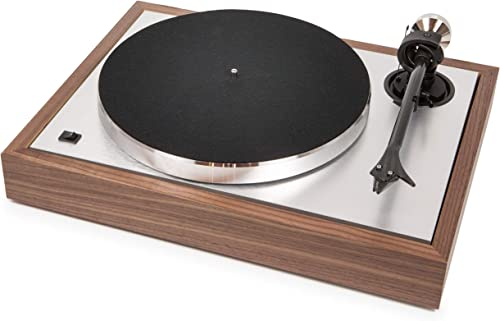 Pro-Ject The Classic Sub-Chassis Turntable with 9 Carbon Aluminum Sandwich Tonearm, Walnut