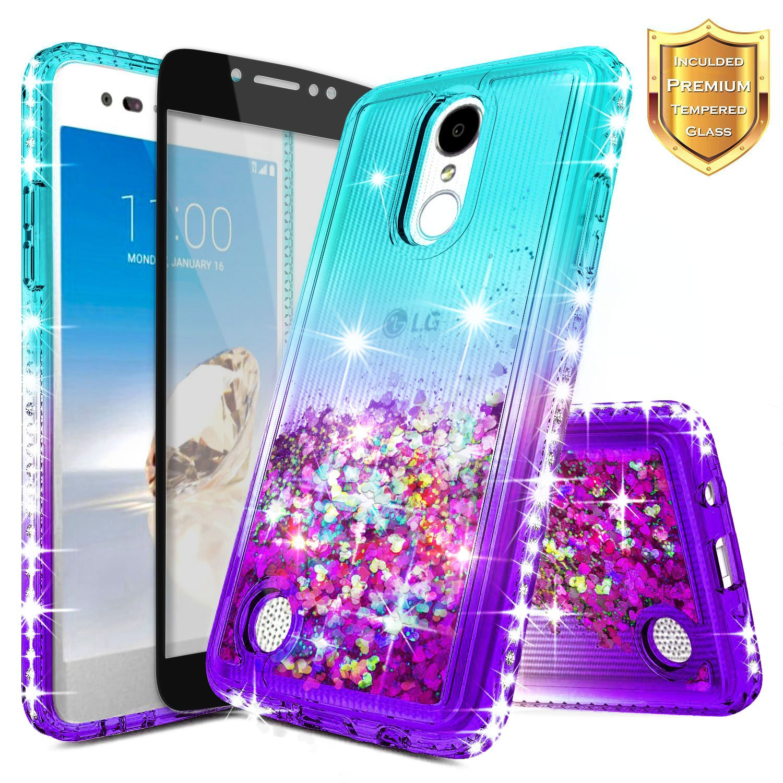 Lg Rebel 4 Lte Case Nagebee 174 Liquid Glitter Bling Cover