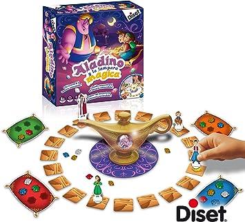 Diset - Juego Aladino y la lámpara mágica +4años, Multicolor (69940): Amazon.es: Juguetes y juegos
