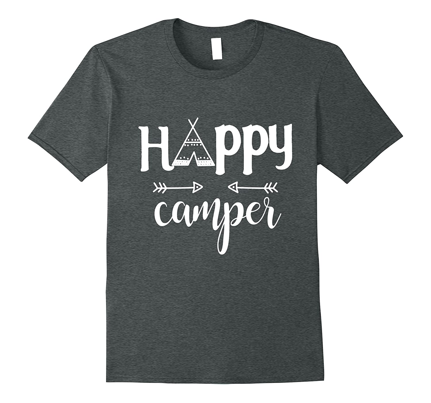 1c876cf5 Camping Happy Camper Young Wild And Three T-Shirts-PL