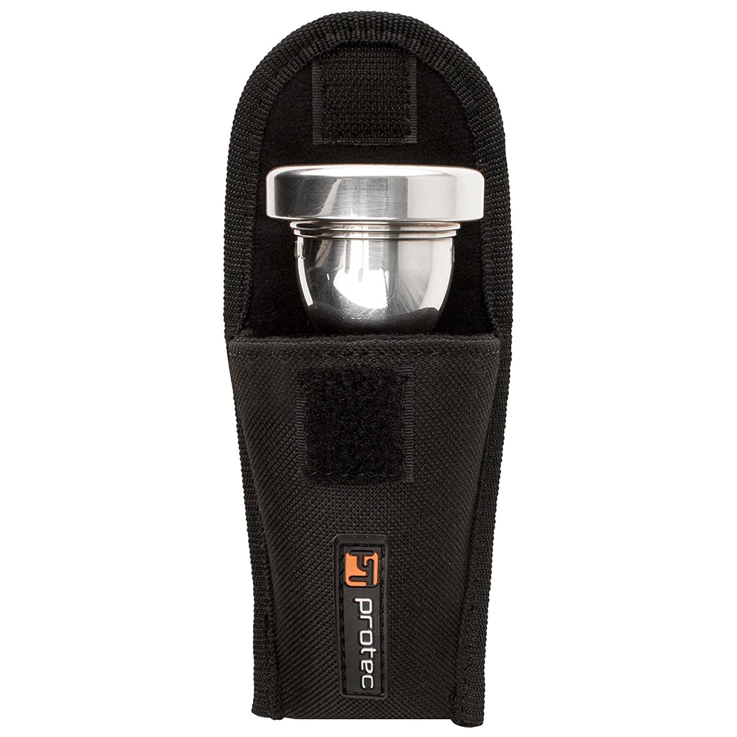 Protec Tuba Mouthpiece Padded Nylon Pouch with Secure Hook and Loop Closure, Model A205 Pro Tec