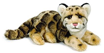 Amazon Com Webkinz Endangered Signature Clouded Leopard Toys Games