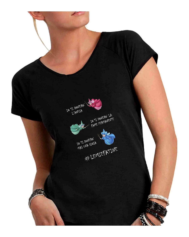 Vivo Scollo Fiammato A T Cotone Taglio Donna Ampio Shirt fgbYy67