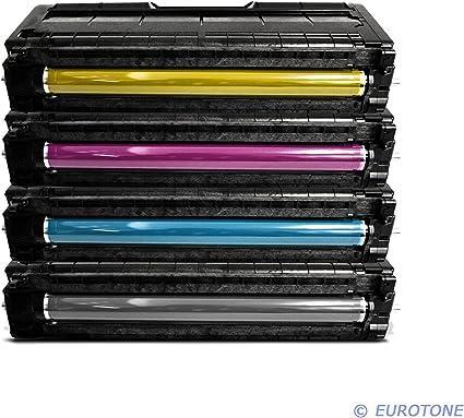 Eurotone Toner Kartuschen Für Ricoh Aficio Sp C250sf Sp C250dn Ersetzten Bk C Y M Patronen Im Spar Set Kompatible Premium Kit Alternative Bürobedarf Schreibwaren