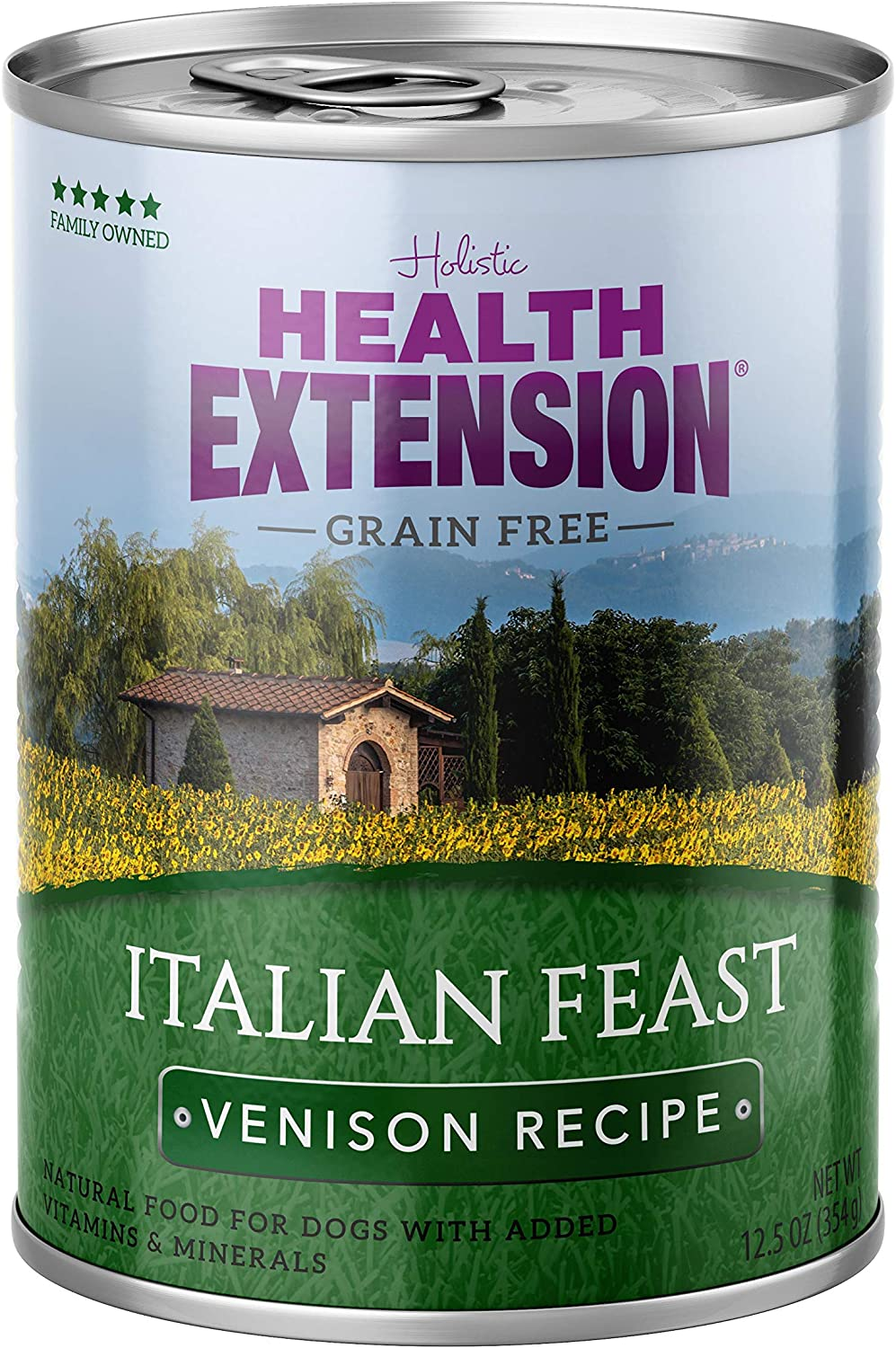 Health Extension Grain Free Italian Feast Canned Wet Dog Food - (12) 12.5 Oz Cans