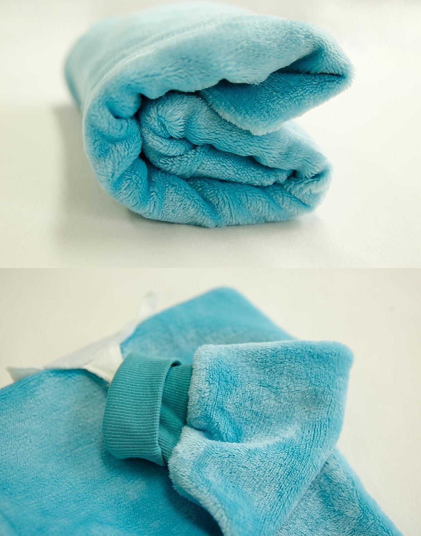 Vaenait Baby 1-7Y Super Soft Microfiber Fleece Kids Boys Girls Wearable Blanket Sleeper Sleepsuit Sleeping Bag Animal