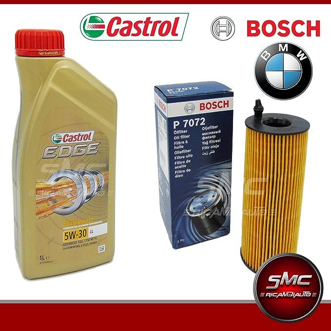 Smc 6 Liter Motor Öl Castrol Edge 5w30 Ölfilter Bosch Bmw 320d E90 E91 Bmw 118d E81 E87 Auto