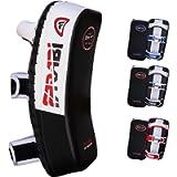 Farabi Sports Thai pad, Kickboxing Kick pad, Kick Training Strike Shield MMA Muay Thai Curved X 1