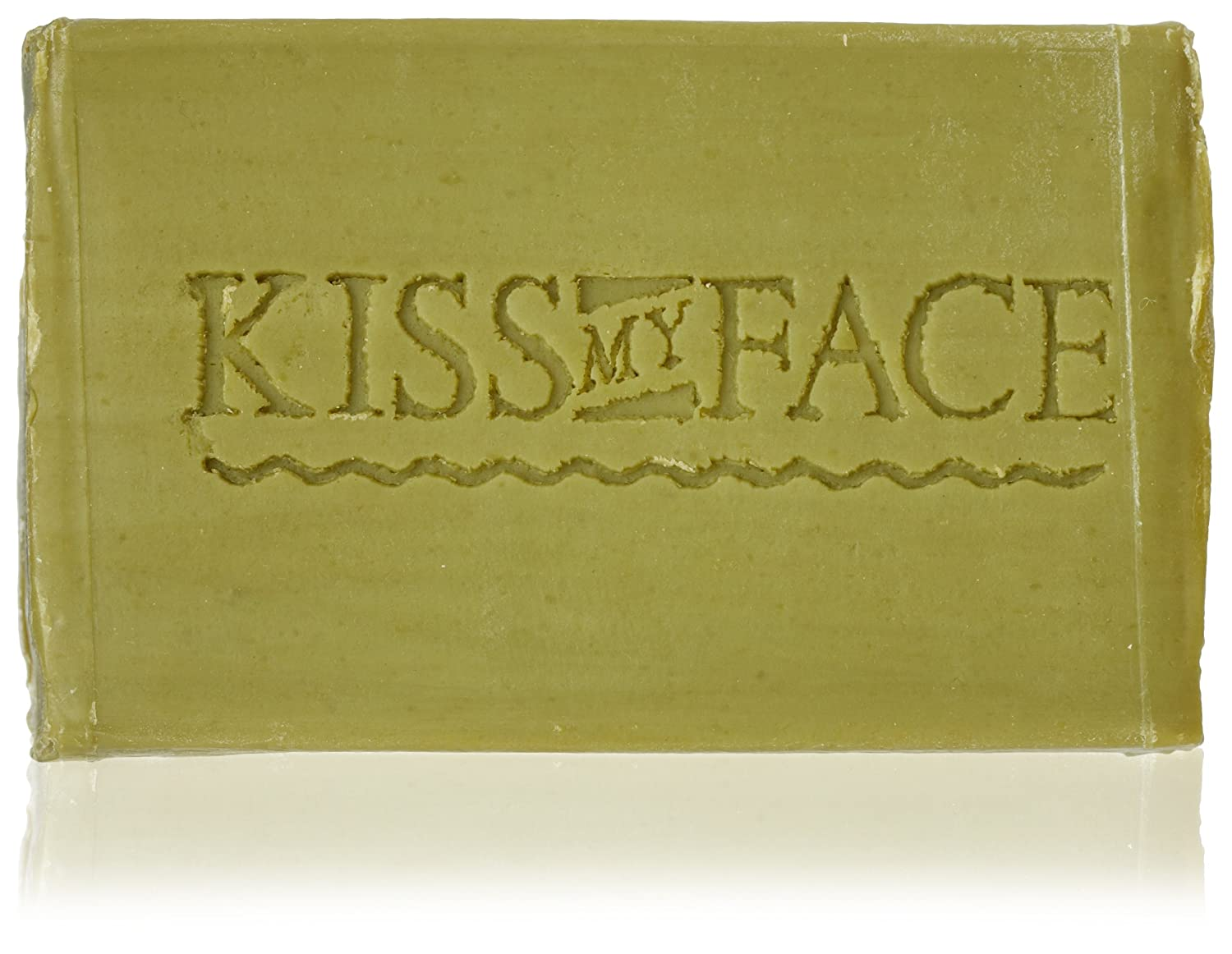 Kiss My Face Pure Olive Oil Bar Soap - 4 oz, 6 pack (image may vary)