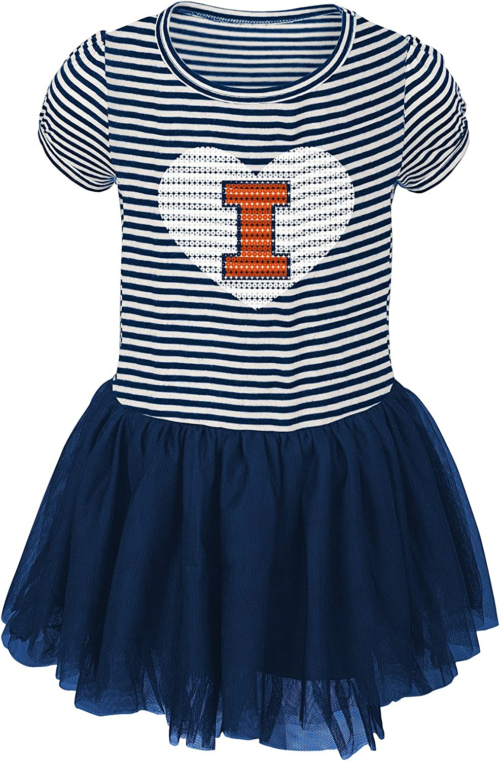 NCAA by Outerstuff NCAA Toddlers Celebration Sequin Tutu Dress