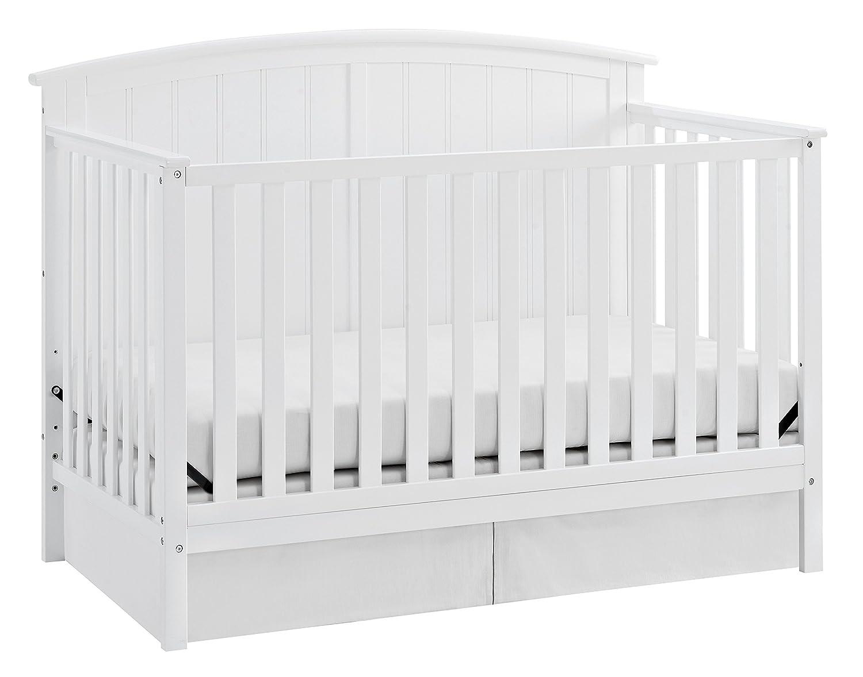 amazon com storkcraft steveston 4 in 1 convertible crib white