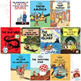 The Adventures Of Tintin Series 1 To 2 10 Book Collection Set With Gift Journal