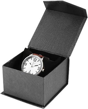 Caja de cartón para Reloj de Pulsera, Estuche de Regalo, Caja de Regalo: Amazon.es: Relojes