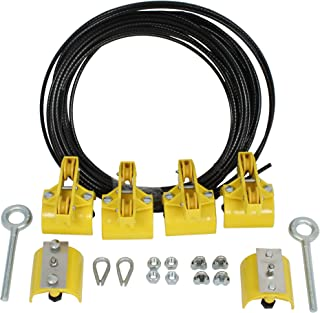 product image for KH Industries FTSW-RL-KIT20 Festoon Stretch Wire Kit with 20' Length for Large Round Cable Systems