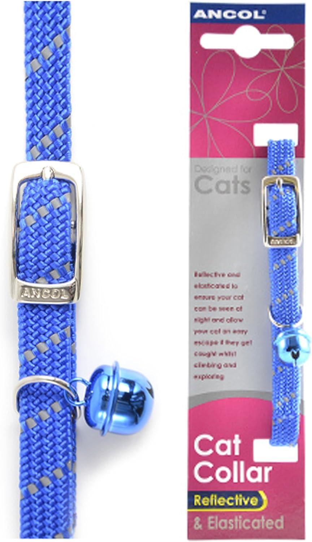 colore Ancol-2 Deal Softweave riflettente per gatti blu
