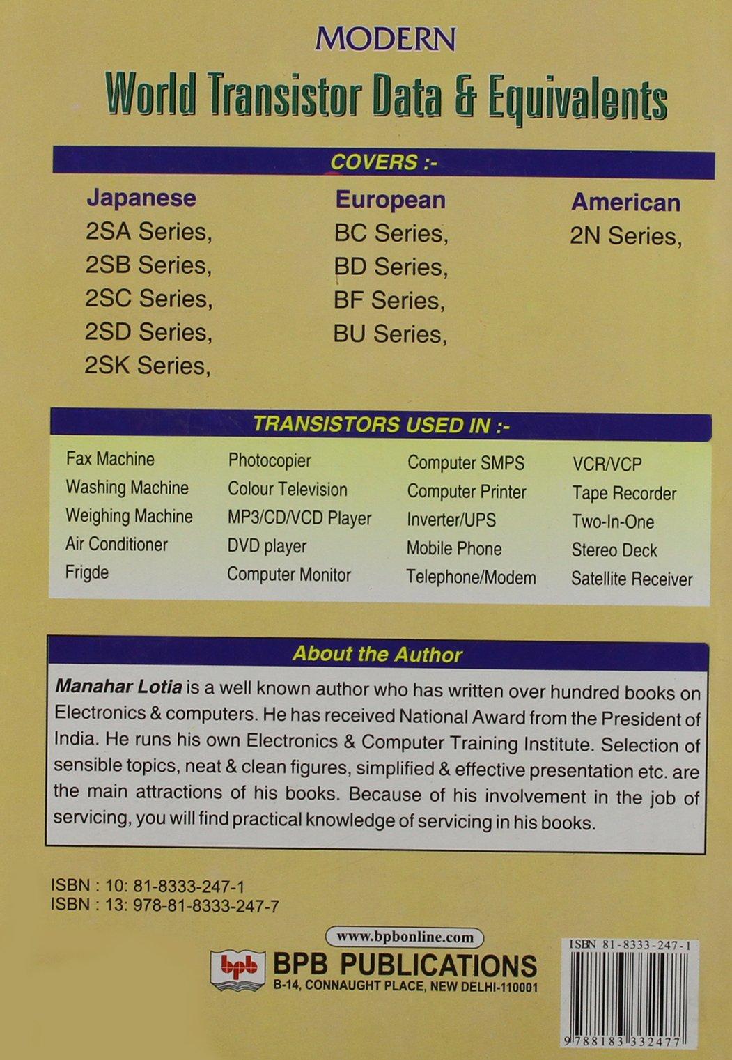 World Transistor Equivalent Book