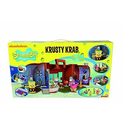 Simba - 109498844 - Figurine - Animation - Bob L'éponge Crousty Crabe Playset