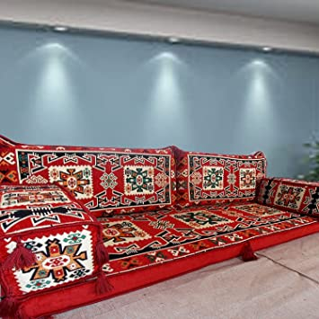 Floor Seating Furniture,handmade Floor Sofa Set,arabic Majlis,arabic Jalsa, Floor