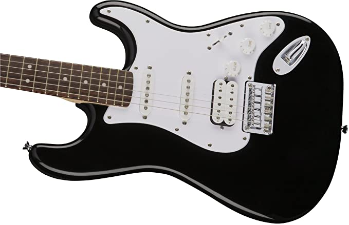Squier Bullet Strat HT HSS RW BK · Guitarra eléctrica: Amazon.es: Instrumentos musicales