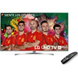 """LG 55UK6950PLB 55"""" 4K Ultra HD Smart TV Wi-Fi Black, Silver LED TV - LED TVs (139.7 cm (55""""), 3840 x 2160 pixels, LED, Smart TV, Wi-Fi, Black, Silver)"""