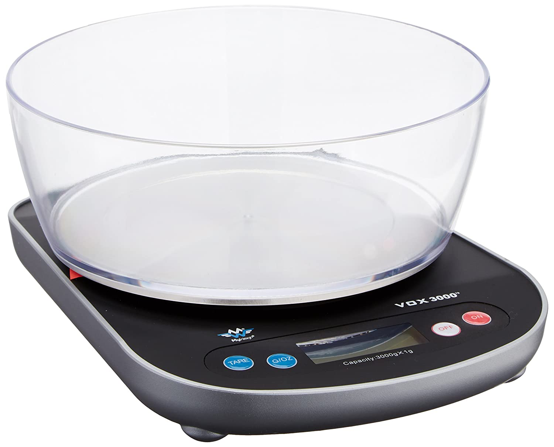 my weigh scmvox3000 676 talking kitchen scale 3000 gram by 1 gram rh amazon co uk food scale .1 gram