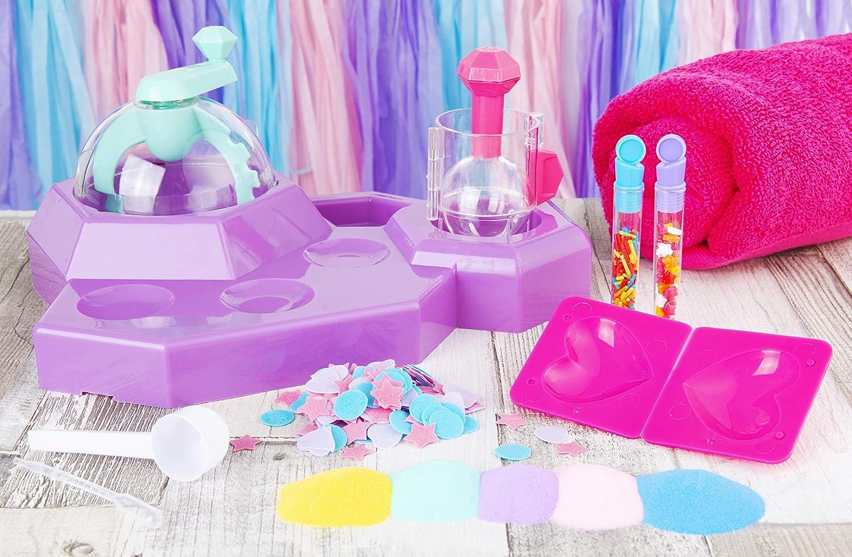 Haz tu Propia estaci/ón de Bombas de ba/ño XOXO Make Your Own Bath Station Love /& Hugs Multicolor Sambro