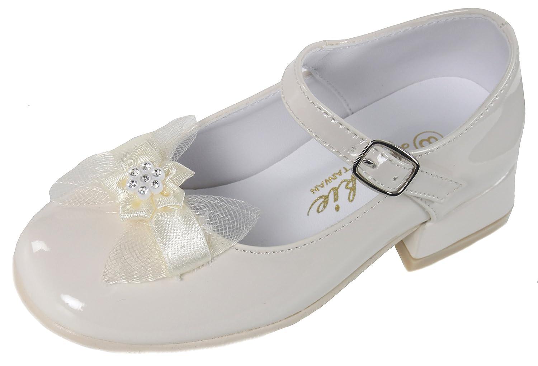 Amazon Ivory Patent Leather Flower Girl Mary Jane Shoes 13 M