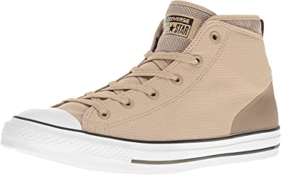 c2069167ae5e Converse Chuck Taylor All-Star Suede Street Mid Men s Vintage  Khaki Malt Herbal
