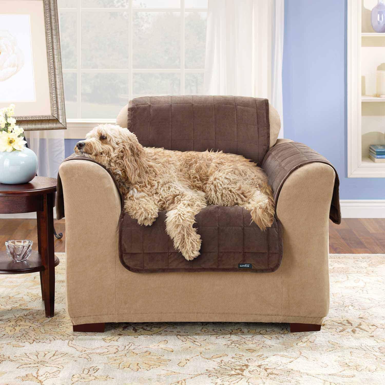 Amazon.com: SureFit Deluxe Pet Cover - Funda para sofá ...