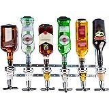 Liquor Dispenser - Wall Mounted Liquor Dispenser - 6 Bottle Liquor Dispenser - Professional Alcohol Dispenser Station…