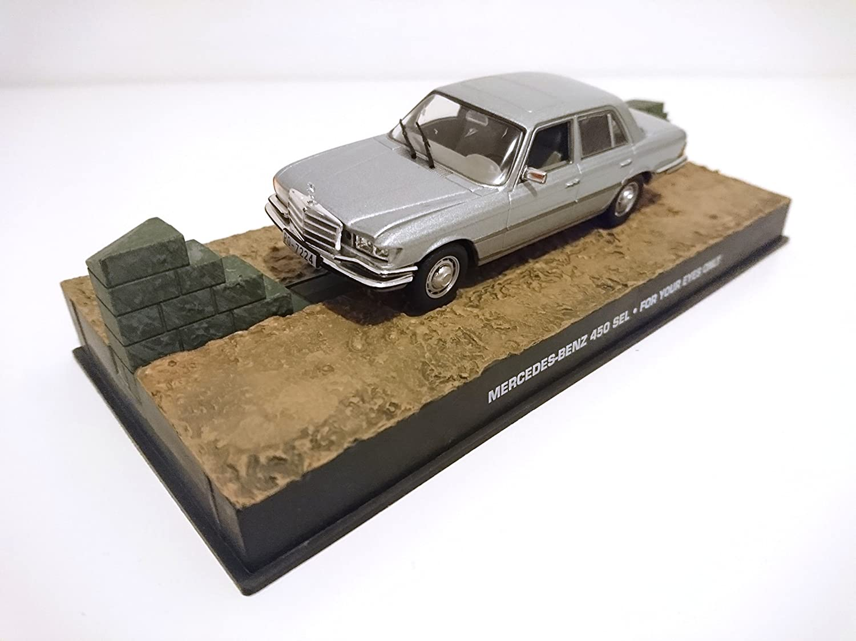 James Bond Mercedes Benz 450 SE1 007 1//43 DY120