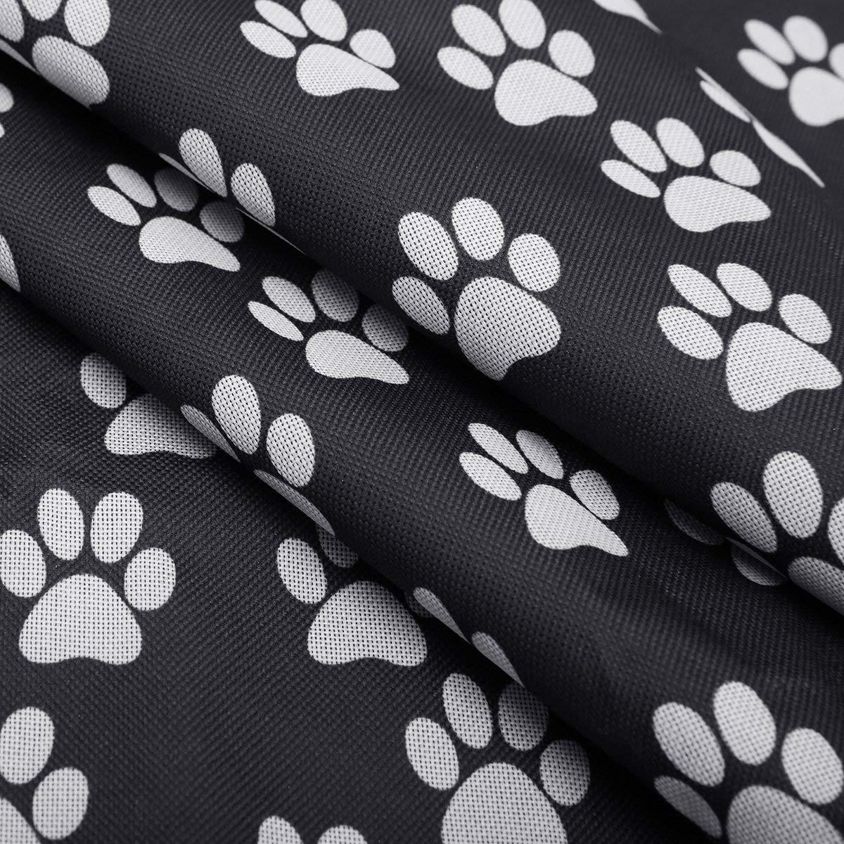 OKWEE Funda de Coche para Perro Protectore de Asiento para Perro Gato Cajone para Coche para Perro Accesorios para Viajar con Perros Gatos