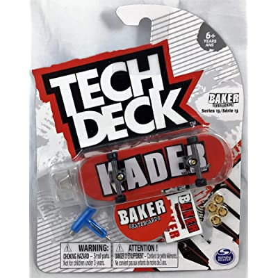Mini Fingerboards Baker KADER Skateboards Series 13 Complete Deck #20120588: Toys & Games