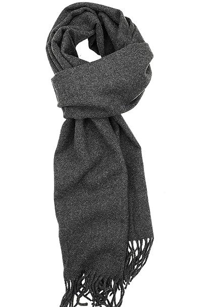 70985bb74a6 Achillea Soft & Warm Solid Color Cashmere Feel Winter Scarf Unisex