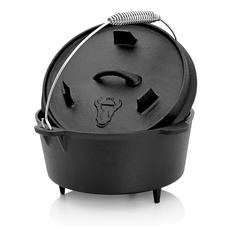 Dutch Oven, Cast Iron DO4.5 CS-Trading