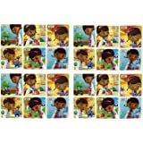 """DOC MCSTUFFINS STICKERS - Doc McStuffins Birthday Party Favor Sticker Set Consisting of 45 Stickers Featuring 6 Different Designs Measuring 2.5"""" Per Sticker"""