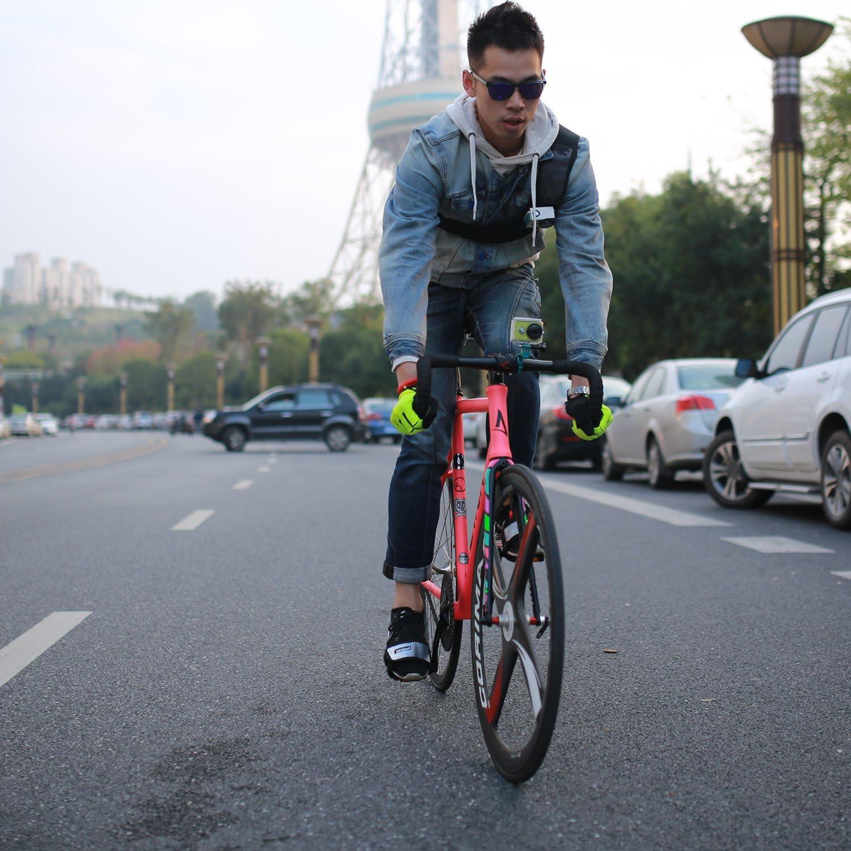 YI Handlebar Bike Mount - Manillar para la bicicleta, Azul: Amazon ...