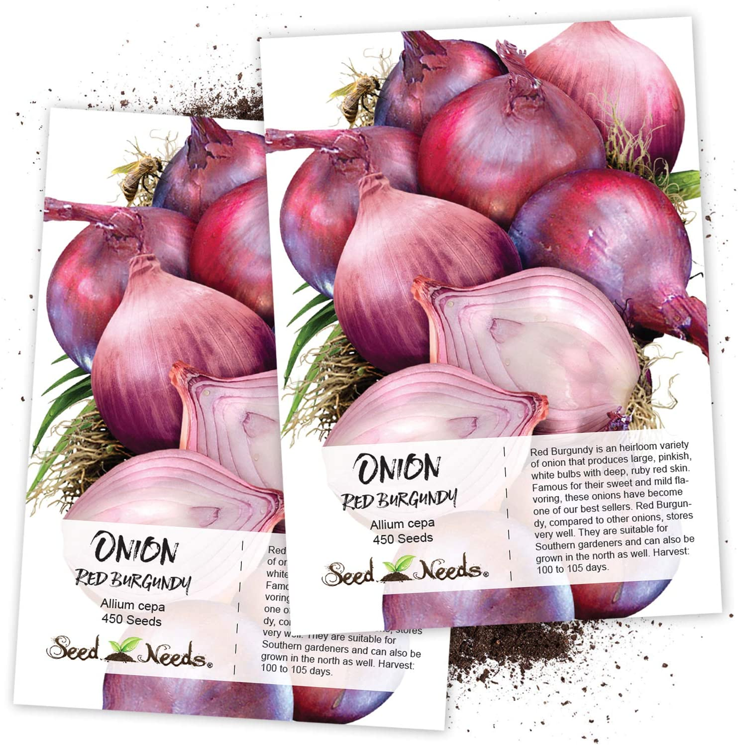 Herb Welsh Onion Red 1200 Seeds