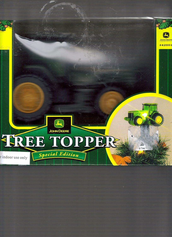 Amazon.com: John Deere Tractor Special Edition Light Up Christmas ...