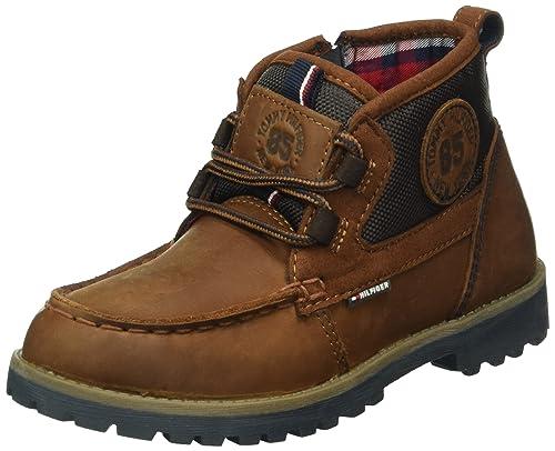 Tommy Hilfiger H3285ouston Jr 5c, Botines para Niños: Amazon.es: Zapatos y complementos