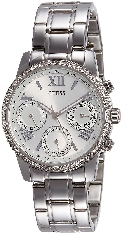 Guess Damen-Armbanduhr Ladies Sport Analog Quarz Edelstahl W0623L1