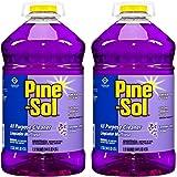 Pine-Sol FVJpUr 97301 Commercial Solutions Liquid Cleaner, 175.16 fl oz 5.18L Bottle, Lavender, 2 Bottles