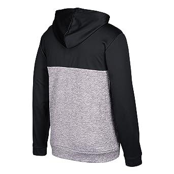 best website 9ed97 5736b Amazon.com   adidas NHL Mens Authentic Full Zip Hood   Clothing