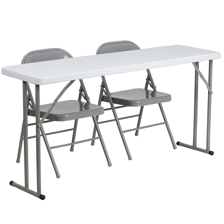 Amazon Flash Furniture 18 x 60 Plastic Folding Training
